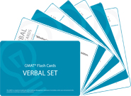 GMAT Verbal Flash